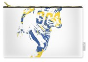 Todd Gurley Los Angeles Rams Pixel Art 30 Carry-all Pouch