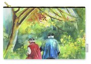 Together Old  In Italy 07 Carry-all Pouch by Miki De Goodaboom