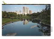 Tokyo Buildings And Garden Pond Carry-all Pouch
