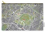 Tokyo City Map Engraving Carry-all Pouch