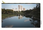Tokyo Highrises With Garden Pond Carry-all Pouch