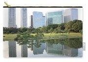 Tokyo Skyline Reflection Carry-all Pouch