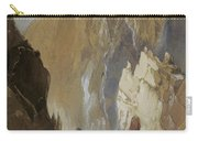 Toltec Gorge And Eva Cliff From The West, Colorado, 1892 Carry-all Pouch