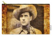 Tom Tyler, Vintage Western Actor Carry-all Pouch