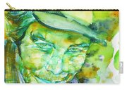 Tom Waits - Watercolor Portrait.5 Carry-all Pouch