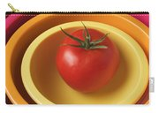 Tomato In Mixing Bowls Carry-all Pouch