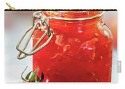 Tomato Jam In Glass Jar Carry-all Pouch