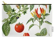 Tomatoes And Related Vegetables Carry-all Pouch
