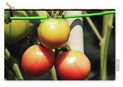 Tomatoes Ripening On The Vine Carry-all Pouch