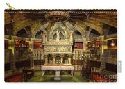 Tomb Of Saint Eulalia In The Crypt Of Barcelona Cathedral Carry-all Pouch