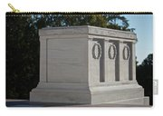 Tomb Of The Unknown Soldier, Arlington Carry-all Pouch by Terry Moore