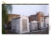 Tombs In St. Louis Cemetery Carry-all Pouch