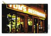 Tom's Restaurant Carry-all Pouch
