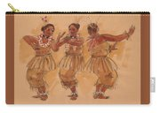 Tonga Dance From Niuafo'ou Carry-all Pouch
