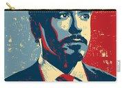 Tony Stark Carry-all Pouch by Caio Caldas