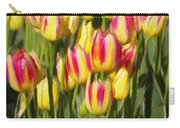 Too Many Tulips Carry-all Pouch