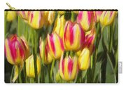 Too Many Tulips Carry-all Pouch by Jeff Kolker