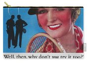 Toothpaste Ad, 1932 Carry-all Pouch by Granger