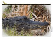 Alligator Toothy Grin 2 Carry-all Pouch