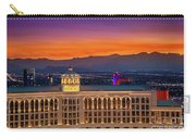 Top Of The Bellagio After Sunset Carry-all Pouch
