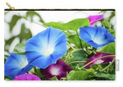 Top Of The Morning Glories Carry-all Pouch