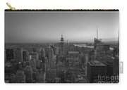 Top Of The Rock At Sunset Bw Carry-all Pouch