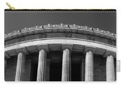 Top Portion Of A Lincoln Memorial Old Greek Architecture Carry-all Pouch