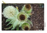 Top Thistle  Carry-all Pouch