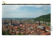 Top View Of Heidelberg, Germany. Carry-all Pouch