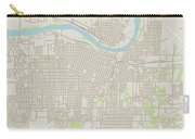 Topeka Kansas Us City Street Map Carry-all Pouch
