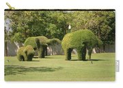 Topiary Elephants, Thailand Carry-all Pouch
