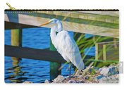 Topsail Egret Carry-all Pouch