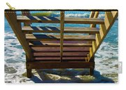 Topsail Island Ocean Steps Carry-all Pouch