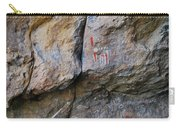 Toquima Cave Pictographs Carry-all Pouch