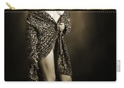 Toriwaits Nude Fine Art Print Photograph In Black And White 5105 Carry-all Pouch
