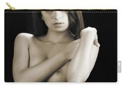 Toriwaits Nude Fine Art Print Photograph In Black And White 5106 Carry-all Pouch