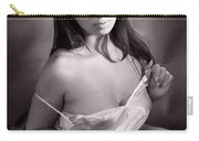 Toriwaits Nude Fine Art Print Photograph In Black And White 5107 Carry-all Pouch