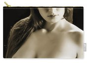 Toriwaits Nude Fine Art Print Photograph In Black And White 5109 Carry-all Pouch