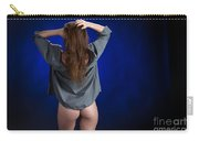 Toriwaits Nude Fine Art Print Photograph In Color 5085.02 Carry-all Pouch