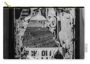 Torn Posters Rome Italy Carry-all Pouch