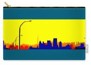 Toronto C N Tower From Front Street Bridge Carry-all Pouch