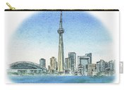 Toronto Canada City Skyline Carry-all Pouch