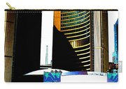Toronto City Hall Graphic Poster Carry-all Pouch