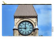 Toronto Clock Tower Carry-all Pouch
