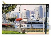 Toronto Island Ferry Arrives Carry-all Pouch