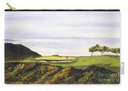 Torrey Pines South Golf Course Carry-all Pouch by Bill Holkham