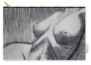 Torso 6 - Female Nude  Carry-all Pouch