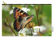 Tortoise Butterfly Carry-all Pouch