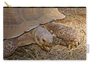 Tortoise Eating Lunch In Living Desert Zoo And Gardens In Palm Desert-california  Carry-all Pouch