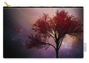 Total Eclipse Of The Sun Tree Art Carry-all Pouch